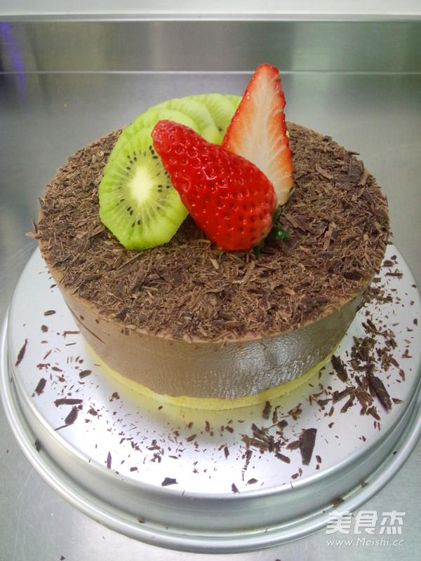 黑巧克力慕斯蛋糕的做法大全