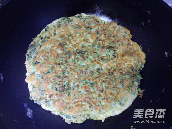 香椿芽鸡蛋饼怎么炖