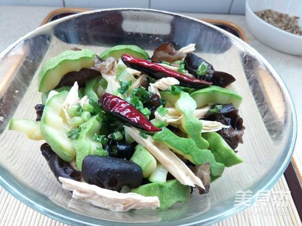 腐竹木耳拌西葫芦怎么煮