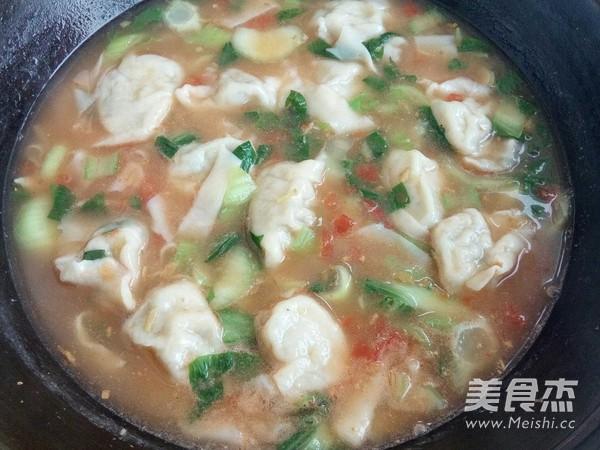 酸汤饺子面怎么炖