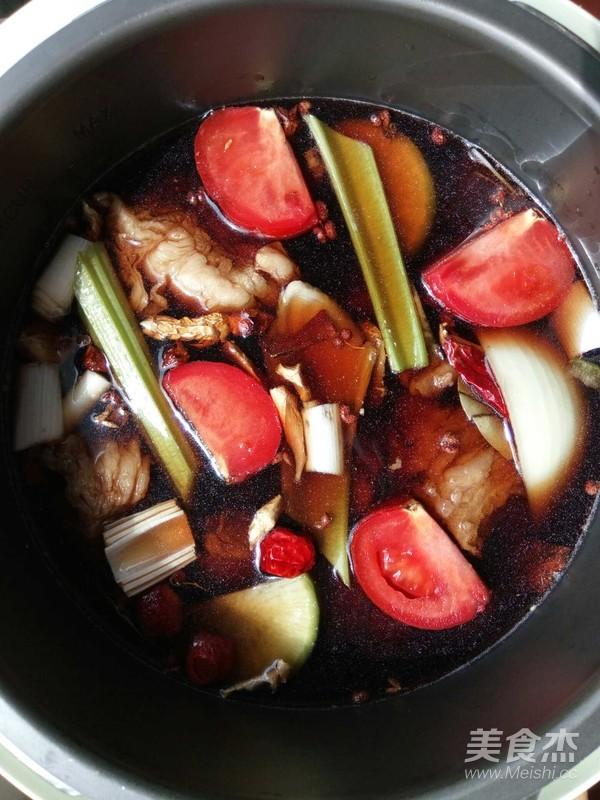 电压力锅煲牛肉怎么做