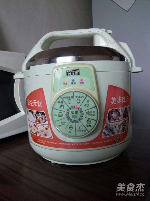 电压力锅煲牛肉怎么炒