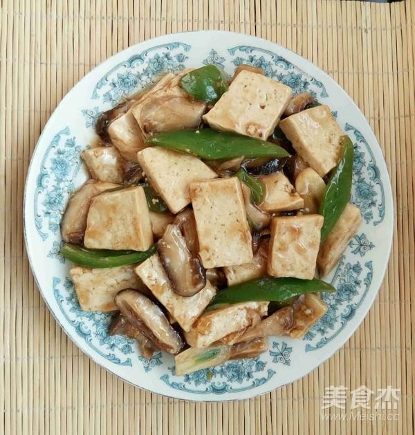 芡汁香菇豆腐怎样煸