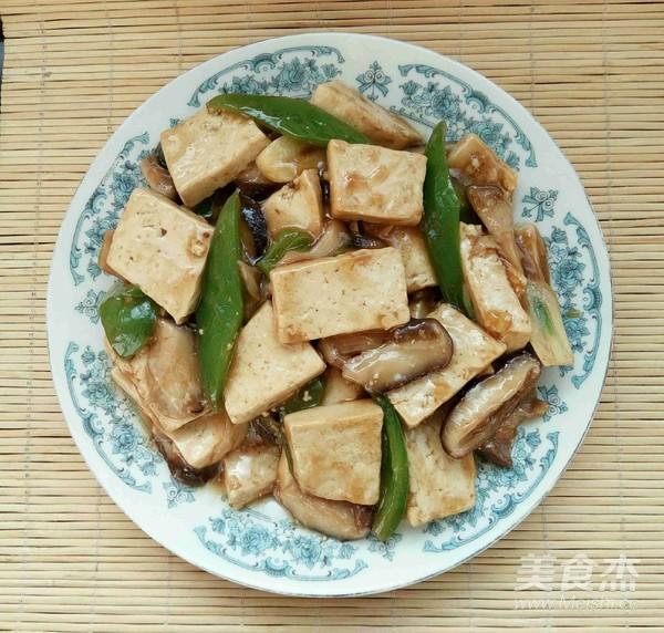 芡汁香菇豆腐怎样做