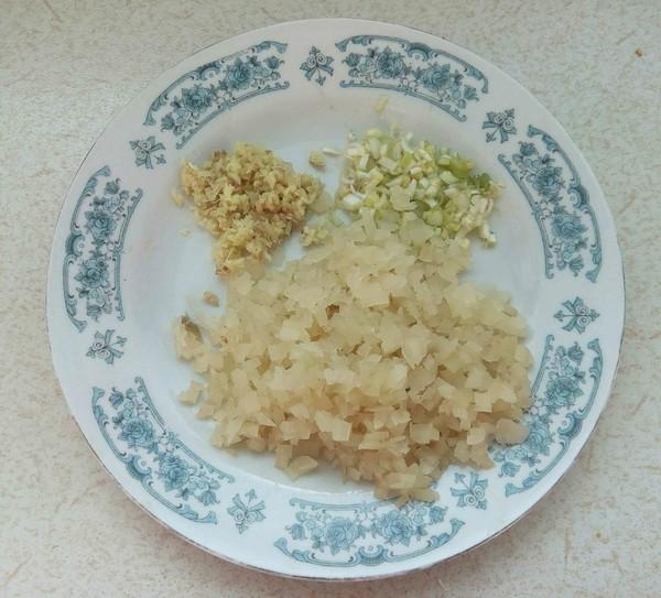 榨菜芹菜叶蛋饼的做法图解