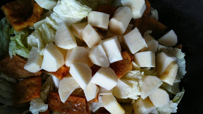 白菜炖粉条怎样煸