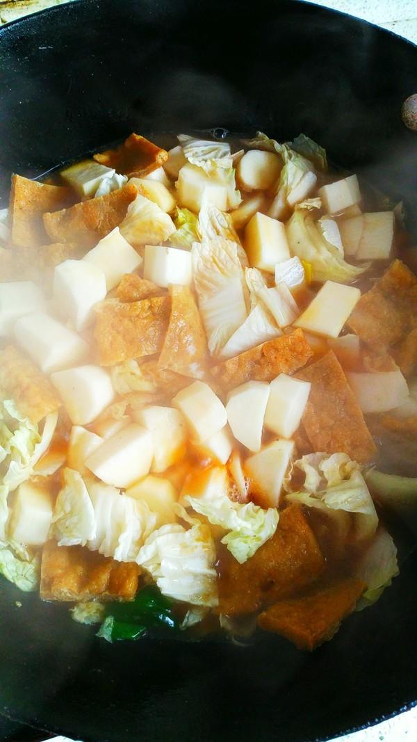 白菜炖粉条怎样炒