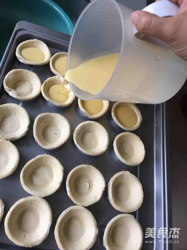 简易迷你蛋挞的家常做法