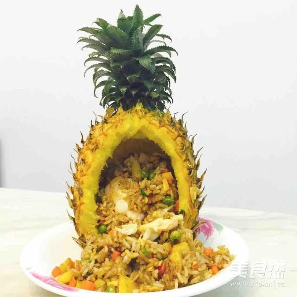 菠萝饭怎么吃