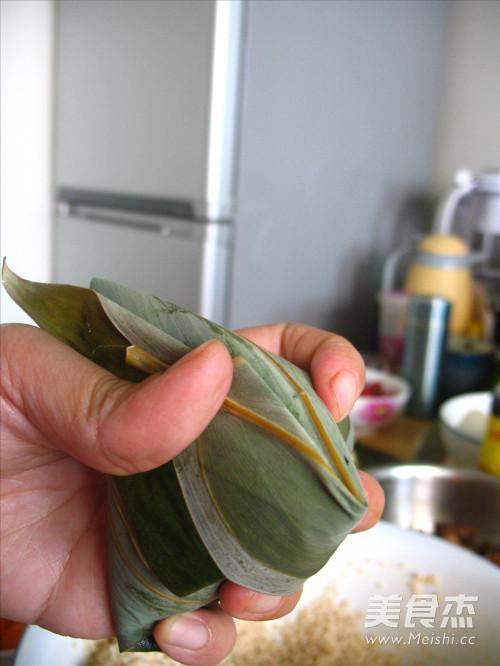 咸蛋黄五花肉粽子的做法大全