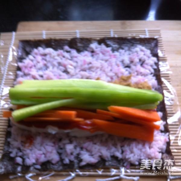 五彩寿司怎么煸
