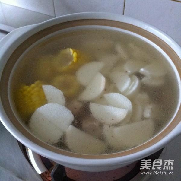 山药玉米排骨汤怎么炒