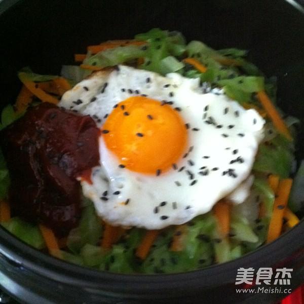 简易石锅拌饭怎么做