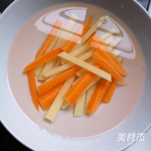 土豆雞蛋壽司的步驟