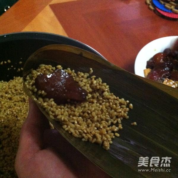 鲜肉粽子怎么做