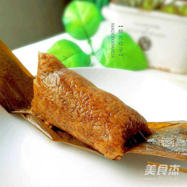 鲜肉粽子怎样煸