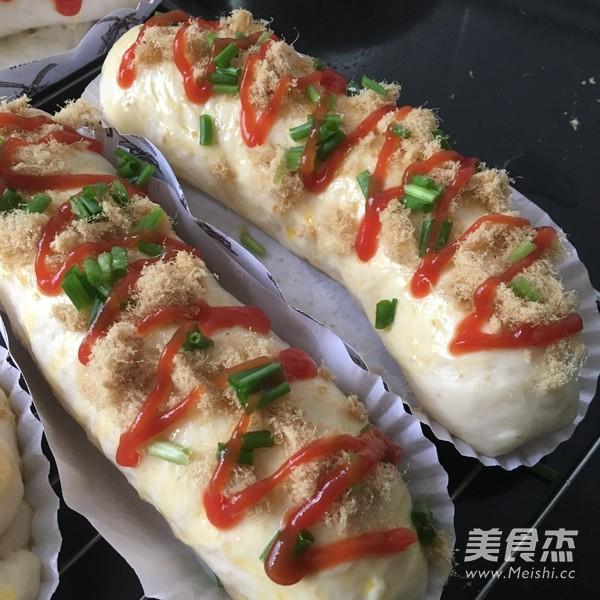 番茄肉松面包怎么炒