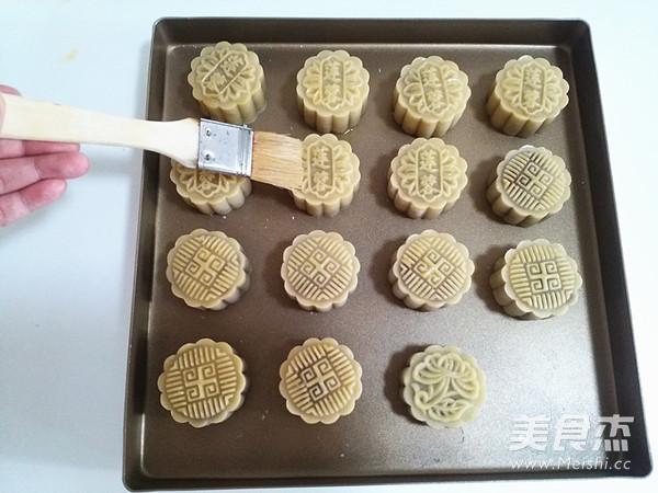 广式莲蓉蛋黄月饼的制作大全