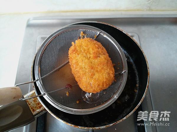 咖喱可乐饼-简单易做的异国小吃的制作方法