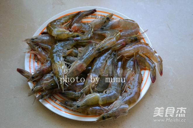 清蒸基围虾的家常做法