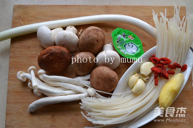 菌菇火锅的做法大全