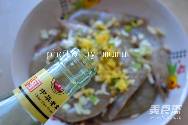 黑椒烤海虾的简单做法