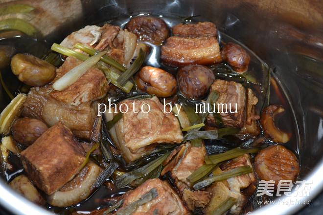 招财纳福---栗子东坡肉怎样煮