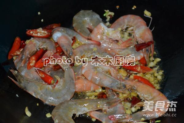 香辣基围虾怎么煮