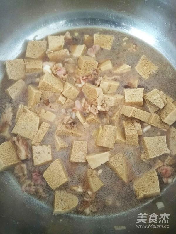 猪肉冻豆腐的家常做法