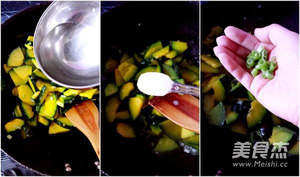 香葱小南瓜的家常做法