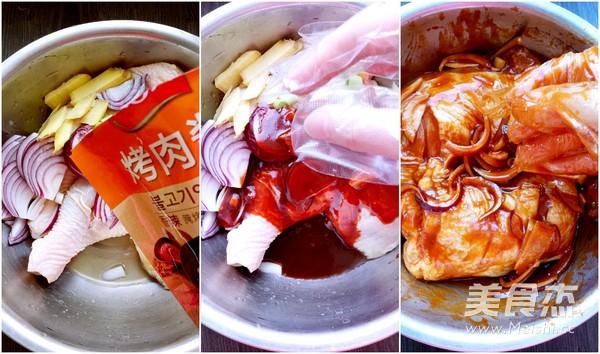 香辣酱烤鸡腿的家常做法