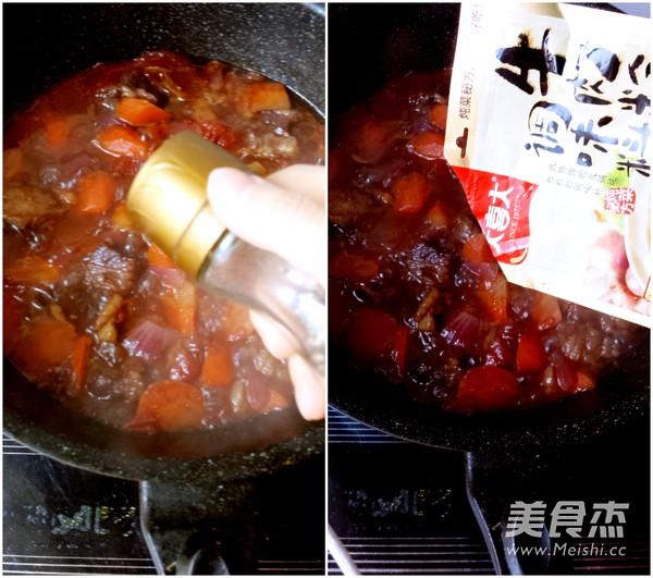 红酒番茄炖牛腩怎么做