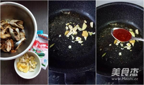蒜蓉辣酱焼鲭鱼的做法图解