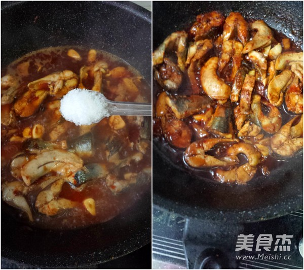 蒜蓉辣酱焼鲭鱼的简单做法