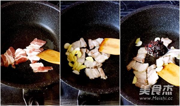 干锅有机花菜的做法图解