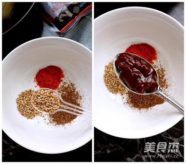 微波烤豆腐的做法图解