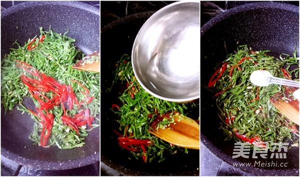 尖椒扁豆丝的家常做法