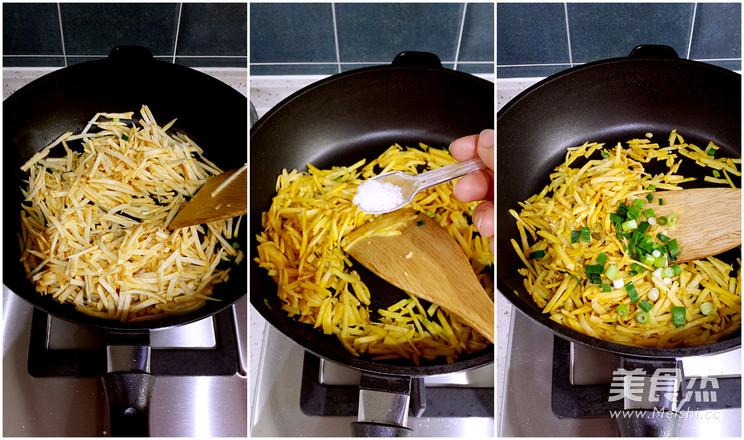 清炒红薯丝的简单做法