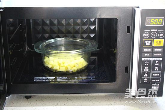 芝士焗土豆泥的家常做法