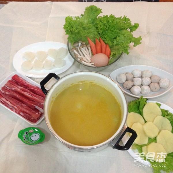 暖身咖喱火锅怎么做
