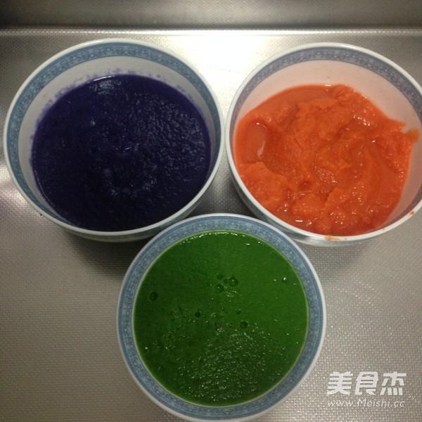彩色水饺的做法大全