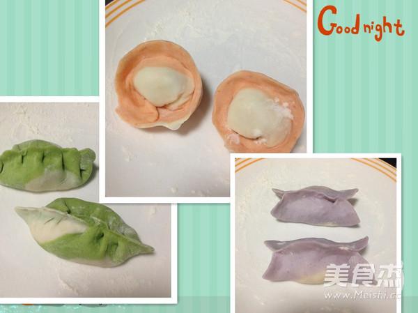 彩色水饺怎样煸