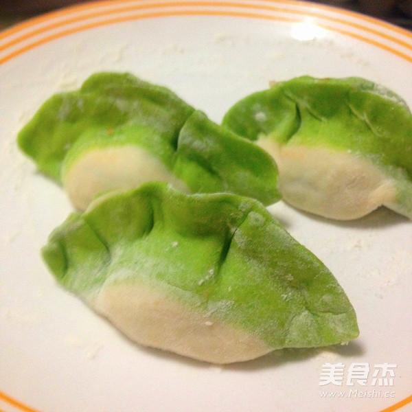 彩色水饺怎样做
