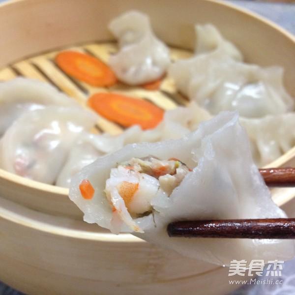 水晶虾饺怎样煸