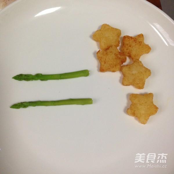 黑胡椒龙利鱼配时蔬怎么做
