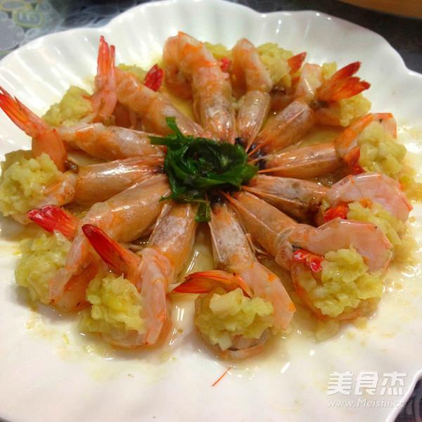 蒜泥蒸虾怎么做