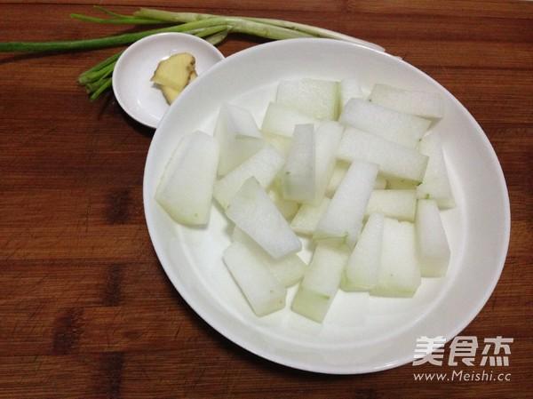 鲜虾蛤蜊冬瓜汤的做法图解