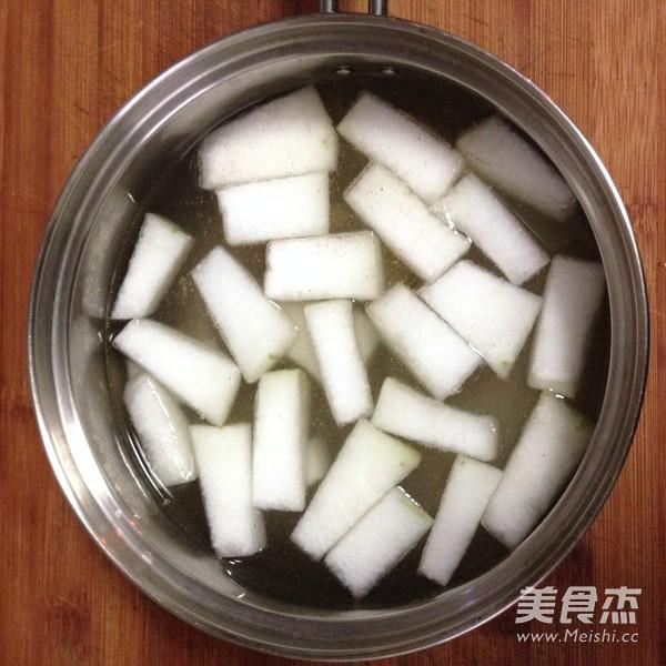 鲜虾蛤蜊冬瓜汤的家常做法