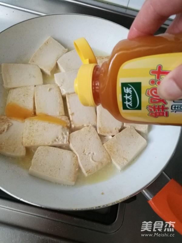 鸡汁豆腐的简单做法