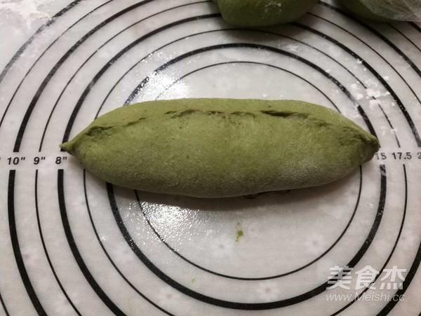 抹茶红豆麻薯软欧怎样炒